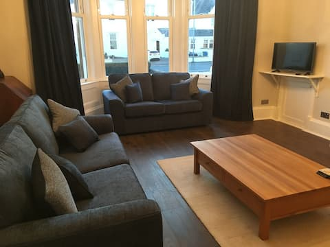 Newly renovated apartment close to Royal Troon
