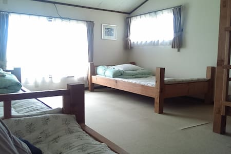 会津野 男性用相部屋 - Aizu-misato - Bed & Breakfast