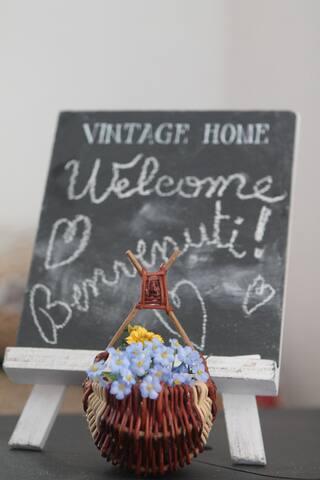 Benvenuti! Welcome! Bienvenue!