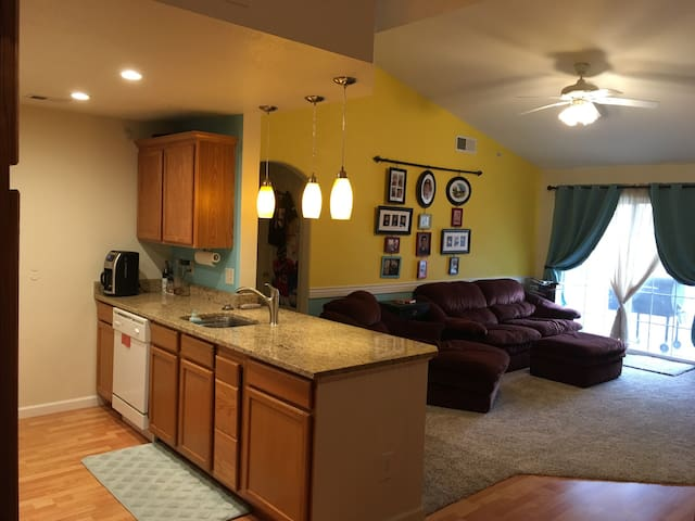 Comfy, clean, convenient location - Englewood - Flat