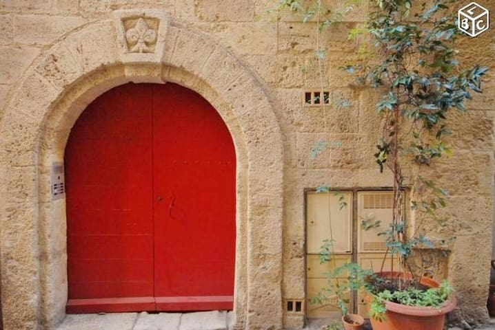 Appartement de charme Centre historique Pézenas