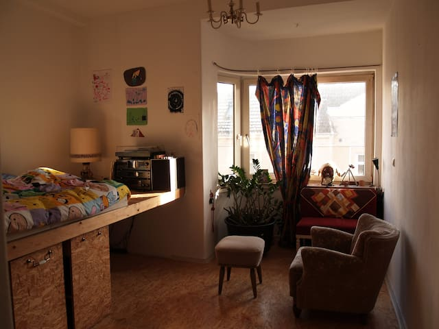 Central and Sunny Room in Steintor/ Bremen