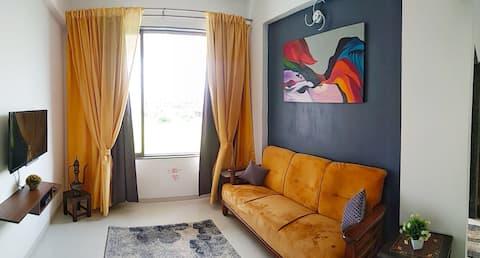Cozy 1 BHK Apartment in Varsoli Alibag Unit 6