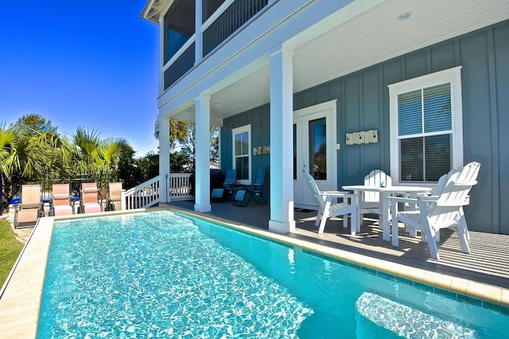 Heated Private Pool*, 3 King Beds,Walk to Beach, 2,276 Sq Ft- Blue Dune 30A in Blue Mountain Beach
