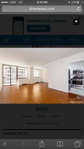 Murray Hill/Midtown East Flex Bedroom