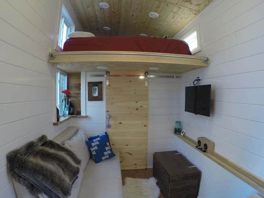 A beautiful custom tiny house in bristol vt houses for for Home design agency bristol