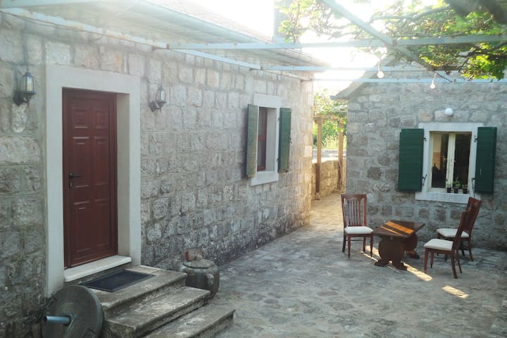 Old Stone House In Montenegrin Littoral