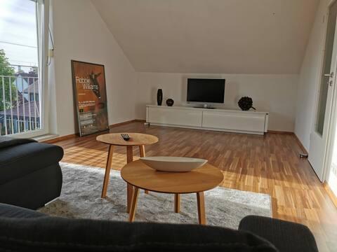 Modernes & helles 2-Zimmerapartment, zentrumsnah