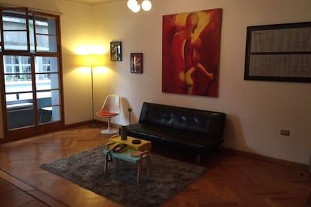 Departamento en Barrio Lastarria, 2 a 4 personas - Santiago - Apartment