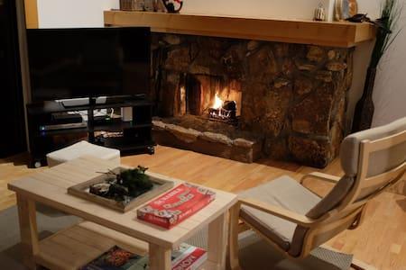 Private room in sleek 2BR cabin - Tahoe City - Cabin