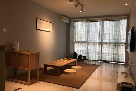 【缦音舍】两层独享日式榻榻米房/高清VIP投影/中远世纪公寓/
