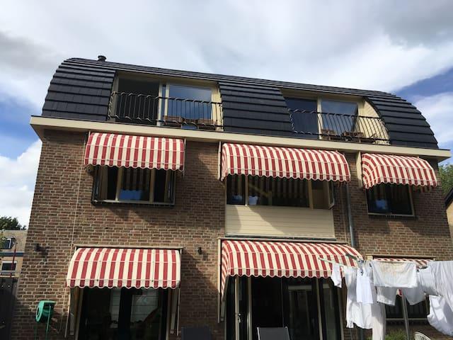 Heerlijk slapen in hartje Vreeswijk - Nieuwegein - Rumah