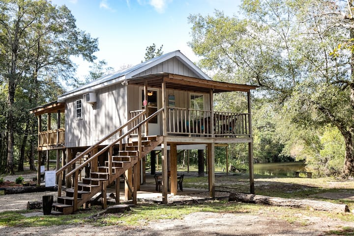 *New Listing-The Hummingbird Tiny River House*