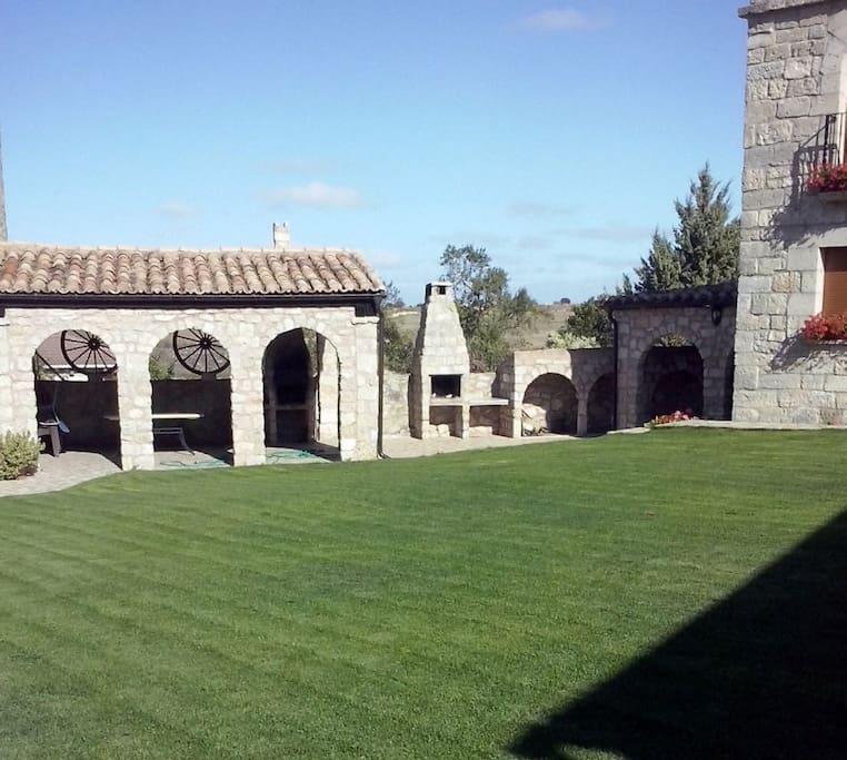 Zona común jardines