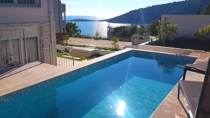 Villa Stella near beach for 12 persons-EOS CROATIA