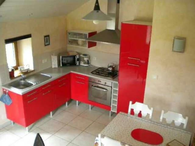 Appartement 2 chambres dans longère - Berric - Appartement
