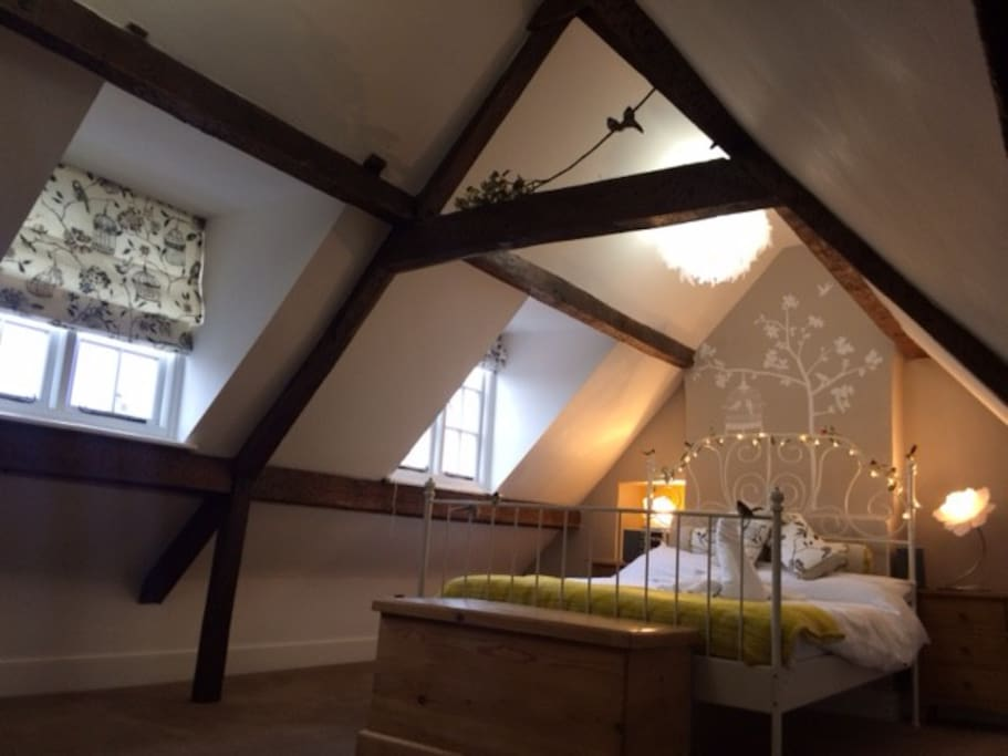 Your room, a cosy and spacious nest!