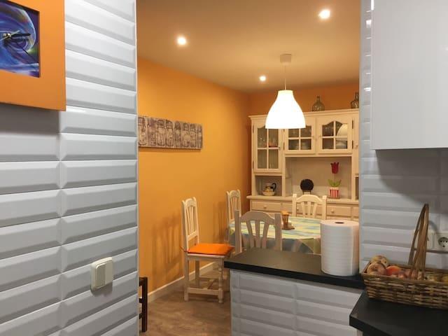 Casa de sierra con bbq y canasta - Navalperal de Pinares - บ้าน