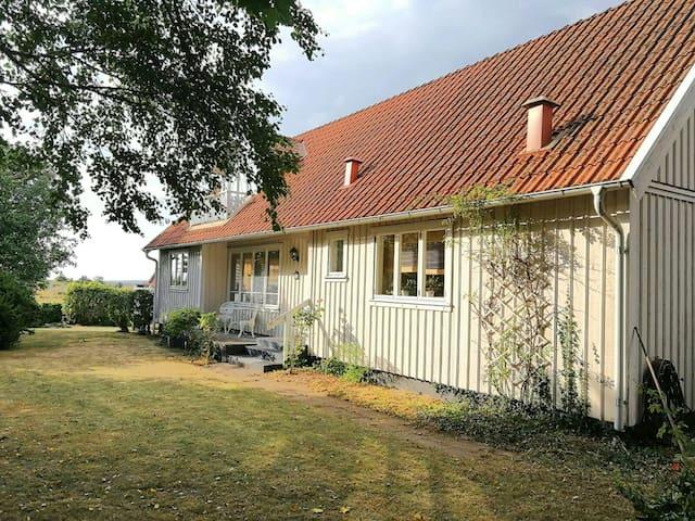 Hus vid havet mellan Varberg & Falkenberg 160 kvm