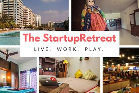 STARTUP RETREAT WITH A POOL - Bengaluru - Apartment