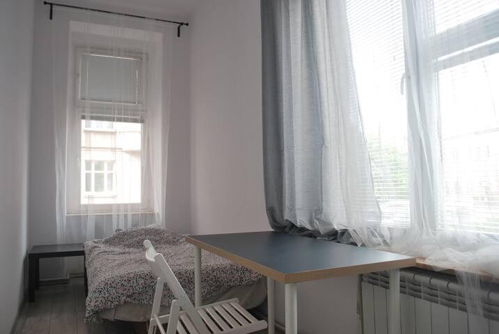 Pokój w mieszkaniu na wrocławskim Ołbinie