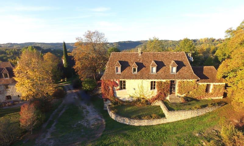 Maison de charme au coeur du Périgord Noir - Auriac-du-Périgord - Huis