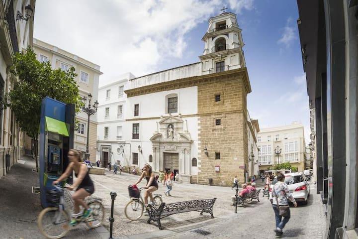 Apartamento en pleno centro de Cadiz