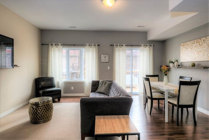 Modern professionally furnished home
