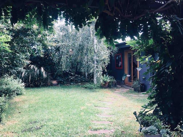 Bungalow in the garden