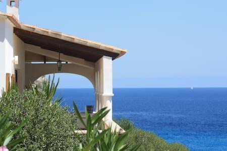 Villa Bellamar Jolie villa sur la mer et la plage - Cala Anguila-Cala Mendia