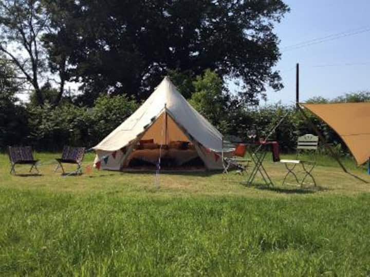 Rural Glamping in beautiful Devon countryside