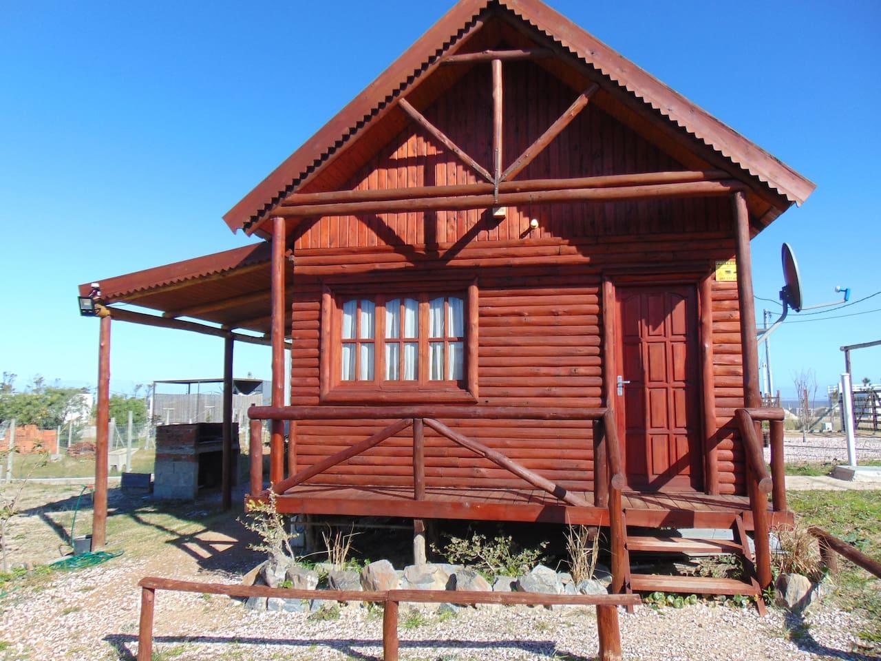 Frente cabaña