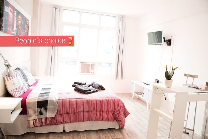 ❤ 9I | PEOPLE´S CHOICE | Obelisco BA ★★★★★ - Buenos Aires - Apartment