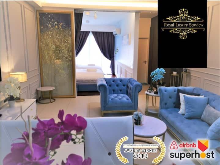 皇家海景ROYAL Luxury Seaview Room, 3 minute  to Gurney