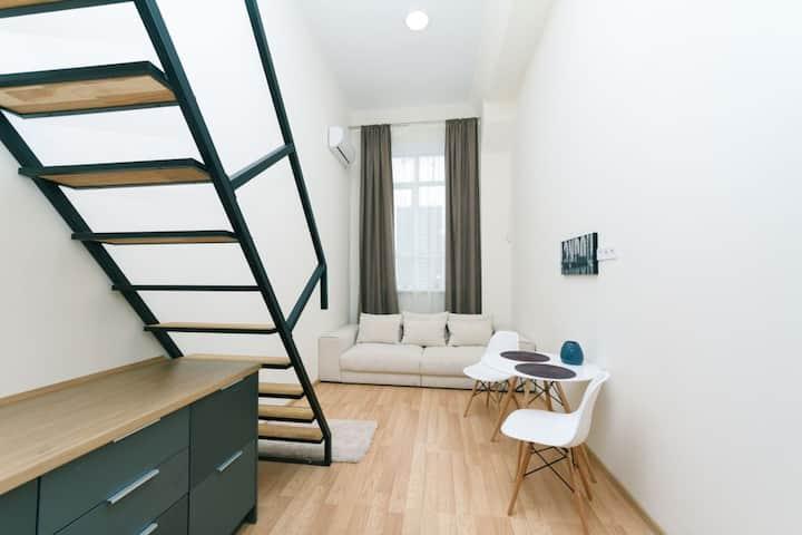 Двухуровневые аппартаменты в новом доме