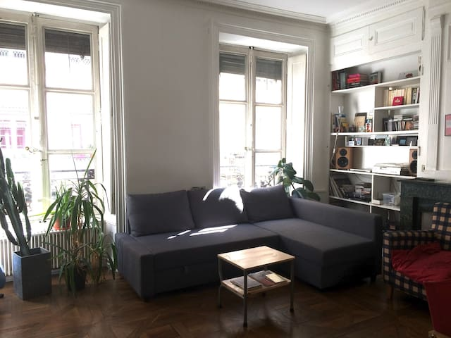 Bel Appartement 72m2 Plein Centre - Lyon - Apartament