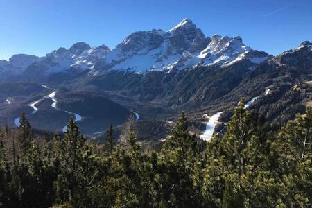 Dimora accogliente con vista sul monte Civetta