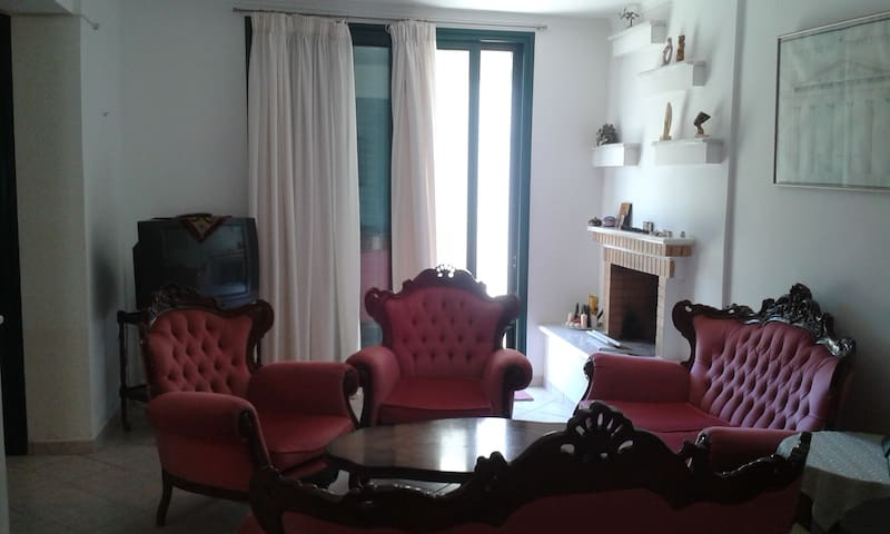 Picturesque count.3-bed flat,Eretria,Evia,Greece