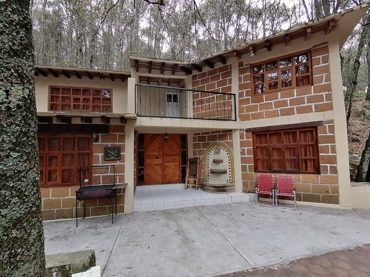 Cabaña del Bosque, Laguna de Servín, Amealco