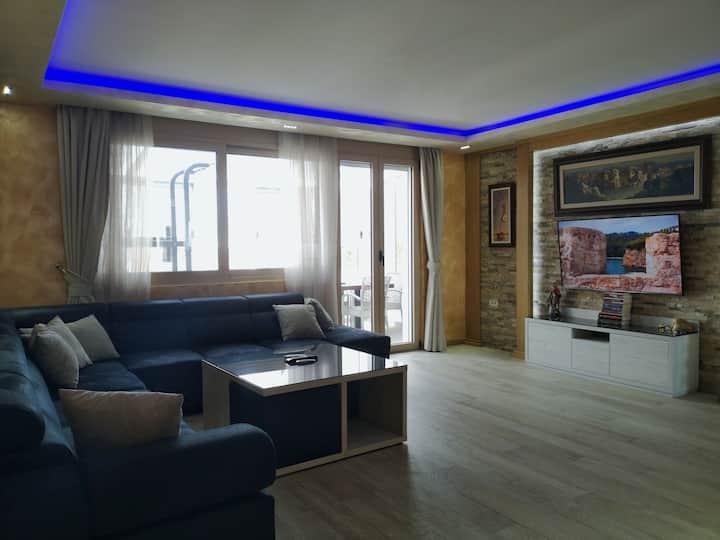 Lux Apartment 140m2 in Podgorica 🇲🇪