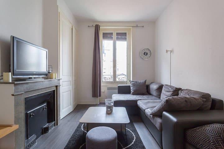 Appartement pour 4 personnes à Villeurbanne