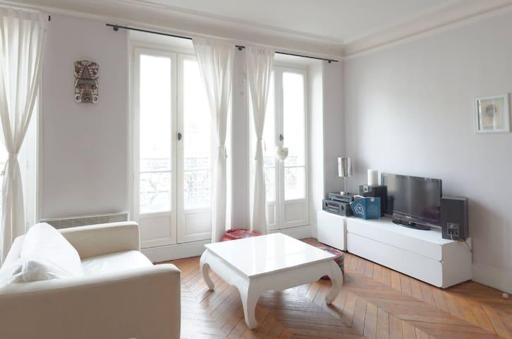 Large, bright apartment, central / ideal area - París - Departamento