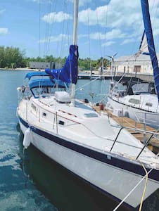 "1984, 32 foot Irwin sailboat  ""Sea Raven Six"""