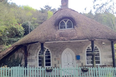 Romantic lodge in delightful creek side village - Cornwall