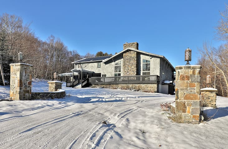 The Highline Lodge was built in 1961 and was Killington's first ski lodge!