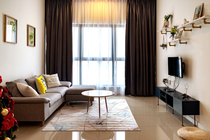 Simple Luxury Home Puchong/3BDR/8pax/KL/吉隆坡^^轻奢北欧风