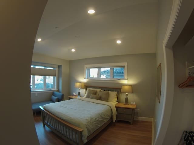 Bed & breakfast C, close to Kitsilano and downtown - Vancouver - Bed & Breakfast