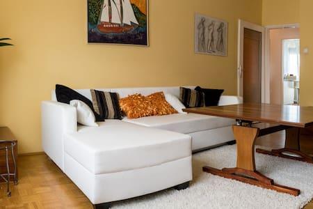 Wohnung mit Balkon, zentral gelegen 78 sqm