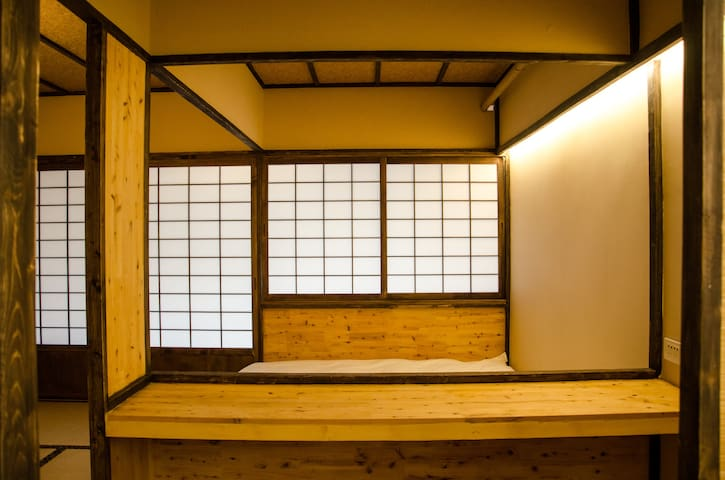【和之宅 · 建筑师的家】地铁口20米 & 可寄存行李 & 纯正和室体验 & 大吊篮!