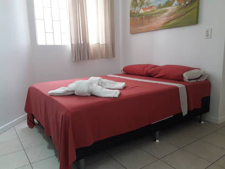 Bonito y  confortable Loft a 150 metros do mar.